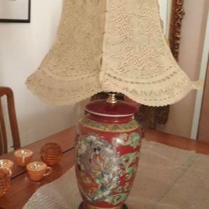 Παλιό φωτιστικό λαμπατέρ