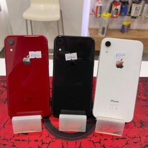 Apple IPhone XR (64GB) Original καινουργιες Eκθεσιακες Συσκευες με 9 Μήνες εγγύηση Υγεια μπαταριας 100%