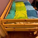 παιδικό κρεβάτι flexa mid-height