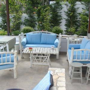 Καθιστικό εξωτερικού χώρου και τραπέζι μέσης  SAHEL