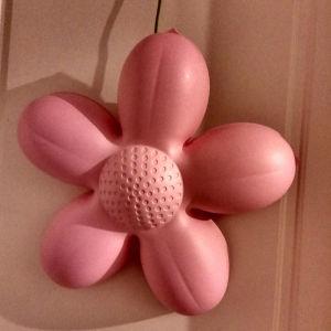 Καινούργια παιδικά φωτιστικά δύο τεμ.λουλούδια ροζ ικεα