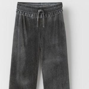 Zara παιδικό cropped βελουδινο παντελόνι