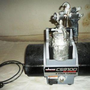 Μηχανή βαφής χαμηλής πίεσης