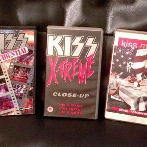 KISS  - 3 VHS