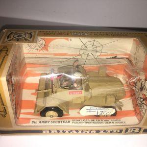 Britains Deetail LTD Scout όχημα στρατιωτακια