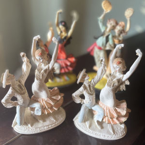 4 Vintage Χορευτικές Φιγούρες
