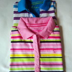 2 μπλουζάκια για  κορίτσια 10-12 ετών βαμβακερά ARIZONA