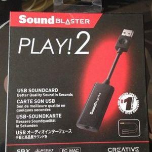 Κάρτα ήχου Sound Blaster Play!2
