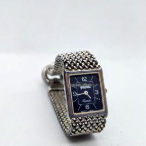 Γυναικείο ρολόι Folli Follie με ασημένιο μπρασελέ made in Italy δεκαετίας του '80