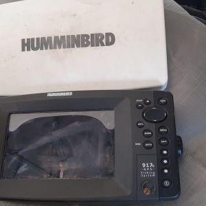 Βυθομετρο GPS Humminbird 917c