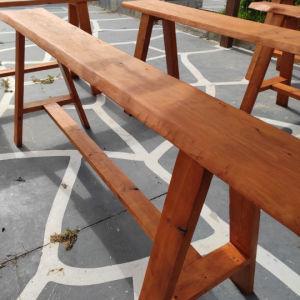 Πάσα χειροποίητα μασιφ ξύλο σε απόχρωση Όρεγκον 150¢ανα/ ΤΕΜ