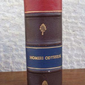 ΟΜΗΡΟΥ ΟΔΥΣΣΕΙΑ  HOMERS ODYSSEE Erklärt von Victor Hugo Koch  Hannover, Hahns Hofbuchhandlung, 1873-1878 Ένας τόμος (α - δ, ε - θ, ι -μ, ν - π, ρ - υ, φ - ω), σε μικρό 8ο, σελ. 168+113+153+154+130+117
