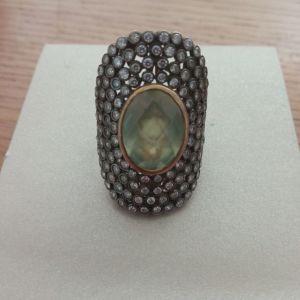 Δαχτυλίδι Li-LA-LO επιχρυσωμένο ασήμι 925 με πέτρες, σειρά Arabesque σε άριστη κατάσταση