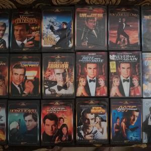 18 DVD James Bond αυθεντικά