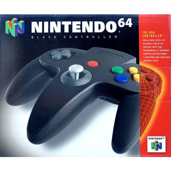Official Black Controller (Boxed) [Nintendo 64]