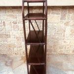 βιβλιοθηκη / Ραφιερα απο αυθεντικο ξυλο Μπαμπου / μικροέπιπλα σαλονιού / επιπλο βεράντας / κήπος / μπαλκόνι / εξοχικο / υπνοδωμάτιο / σάλα / επιπλο υποδοχής