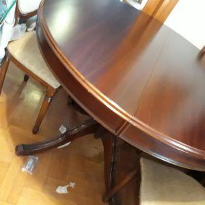 Τραπεζαρία / 4 καρέκλες / Vintage / Άριστη κατάσταση