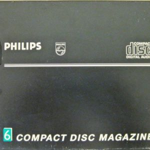PHILIPS 6 COMPACT DISC MAGAZINE 8CM (3 inch)
