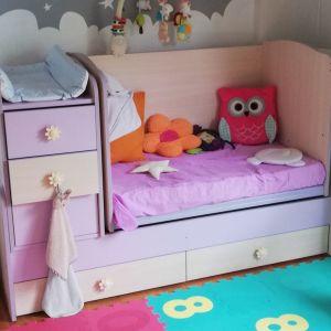 Πολυμορφική κούνια - κρεβάτι - γραφείο