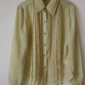 πουκάμισο COVINGTON και μπλουζάκι μεταχειρισμένο size 6-8 US Small χρώμα απαλό  λαχανι