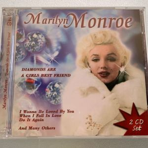 Marilyn Monroe - Diamonds are a girls best friend 2cd collection