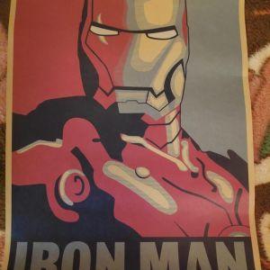 Συλλεκτικη Αφισα Iron Man
