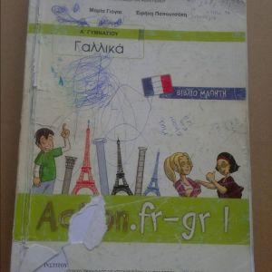 Βιβλιο *Γαλλικα βιβλιο μαθητη α'γυμνασιου μαρια γιογια 2014*