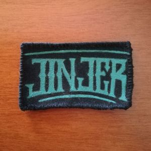 Jinjer patch, sew on (hand painted)