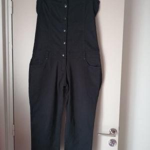 Ολόσωμη φόρμα στράπλες cropped L/XL