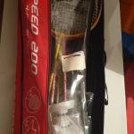 Ρακέτες   του Badminton σε θήκη σετ