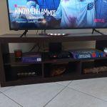 Έπιπλο Τηλεόρασης με αποθηκετική χώρο WENGE μακρόστενο