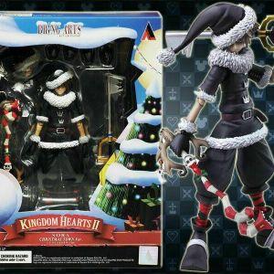 Official Square Enix Kingdom Hearts II Bring Arts Sora Christmas Town 15 cm