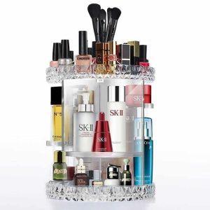 Organizer Cosmetic Storage Box Large με περιστρεφόμενη βάση 360ο LD-188
