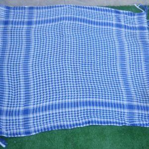 Μαντίλα- κασκόλ σε πανέμορφο γαλάζιο χρώμα, καινούργια.