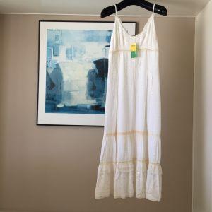 Επώνυμο Leonards λευκό maxi φόρεμα