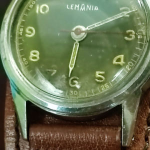 Lemania 192H κουρδιστο του δεύτερου παγκοσμιου πολεμου 1942