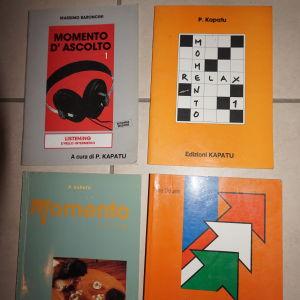 4 βιβλια ιταλικων