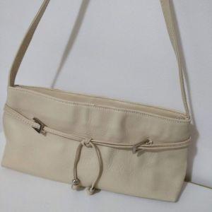 Τσάντα ώμου δερμάτινη