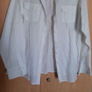 Γυναικειο πουκαμισο Mark&Spenser με ριγα ψιλη γυλιστερη