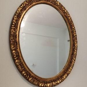 Καθρέφτης οβάλ.
