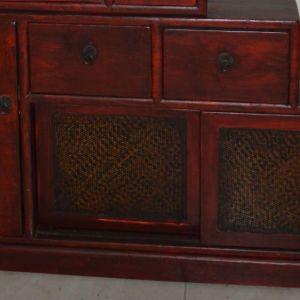 Πωλείται έπιπλο δρυς, κόκκινο χρώμα ( ινδικής γραμμης).  Αρχικής αξίας € 600,00