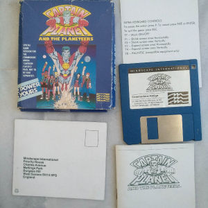 Amiga game Captain Planet And The Planeteers (2) μικρό κουτί