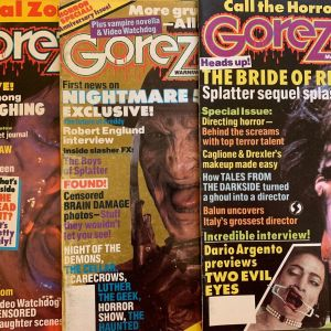 Περιοδικά Fangoria - Gorezone (συνολικά 6 τεύχη)