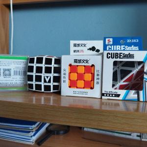 διάφοροι κύβοι speedcube και άλλοι