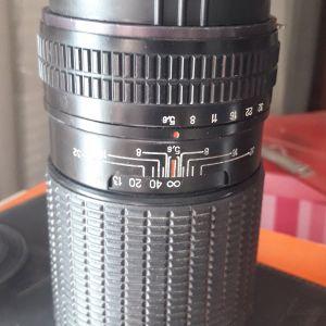 Φακός Telear 250mm για φωτογραφική μηχανή μέσου φορμά Kiev88 ή Pentagon six