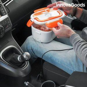 Ηλεκτρικό Κυτίο Γεύματος για το Αυτοκίνητο InnovaGoods 40W 12 V Λευκό Πορτοκαλί