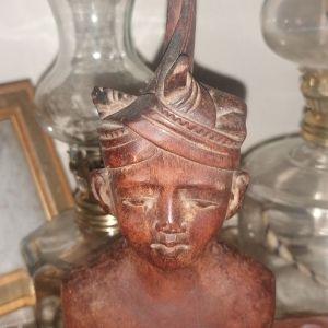 Αιγυπτιακό χειροποιητο ξυλινο αγαλματάκι
