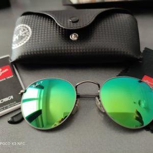 Γυαλιά ηλίου Ray Ban, Round Metal Green