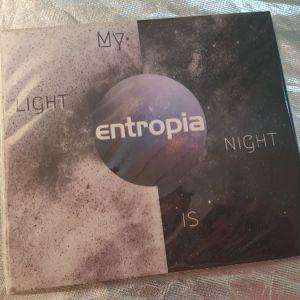"""Μουσικό CD """"Entropia - My light is night"""""""