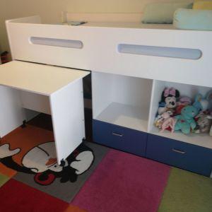 Κρεβάτι παιδικό με γραφείο